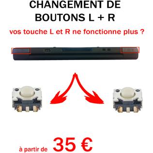 Réparation 2DS bouton L R