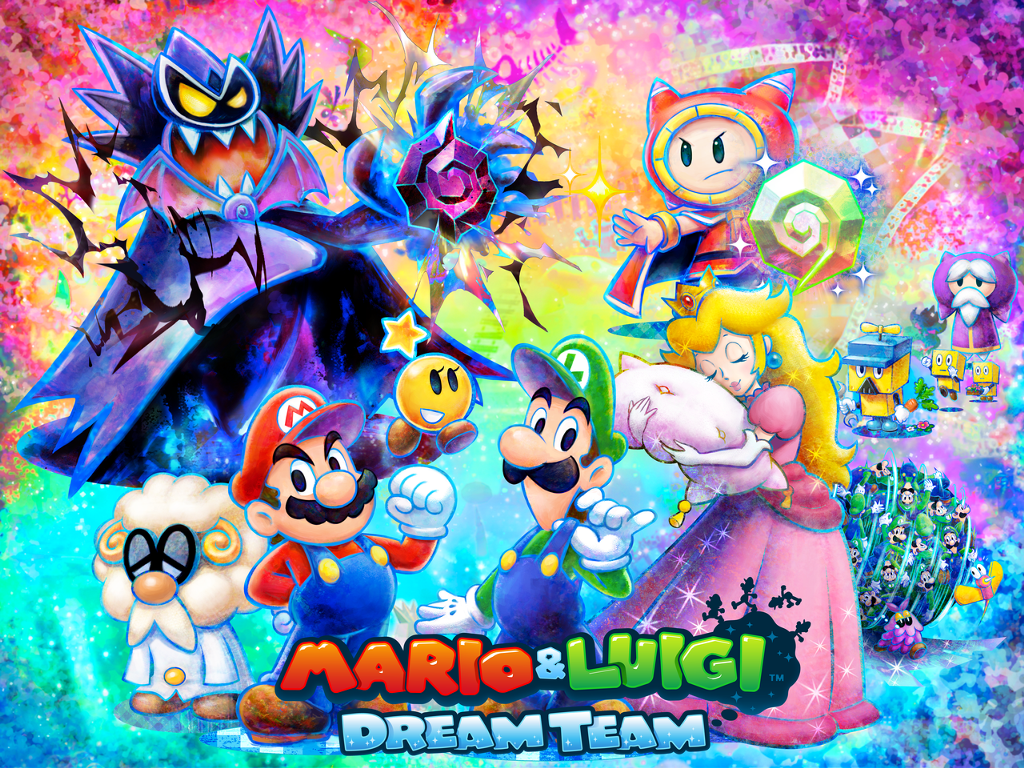 Mario et Luigi Dream Team