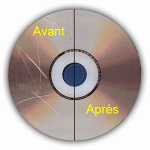 Réparation cd