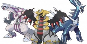 Evènement Pokémon Dialga, Palkia, Giratina