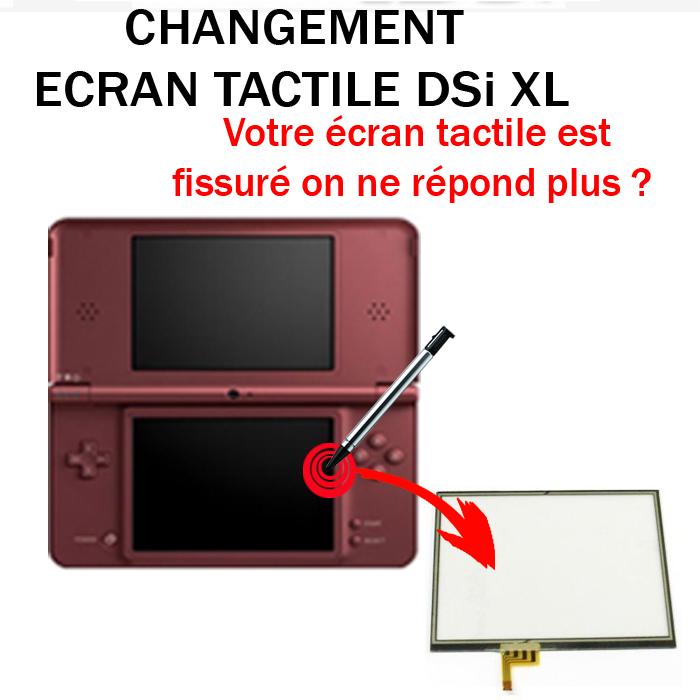 Réparation DSi XL écran tactile