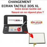Réparation 3DS XL changement écran tactile Réparation 3DS XL changement écran tactile