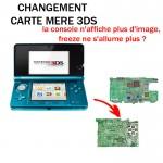 Réparation 3DS Changement carte mère