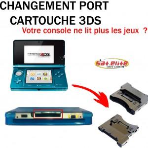 Réparation 3ds changement port cartouche