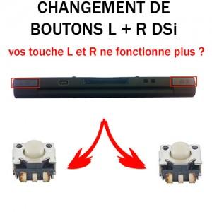 Réparation DSi bouton L R
