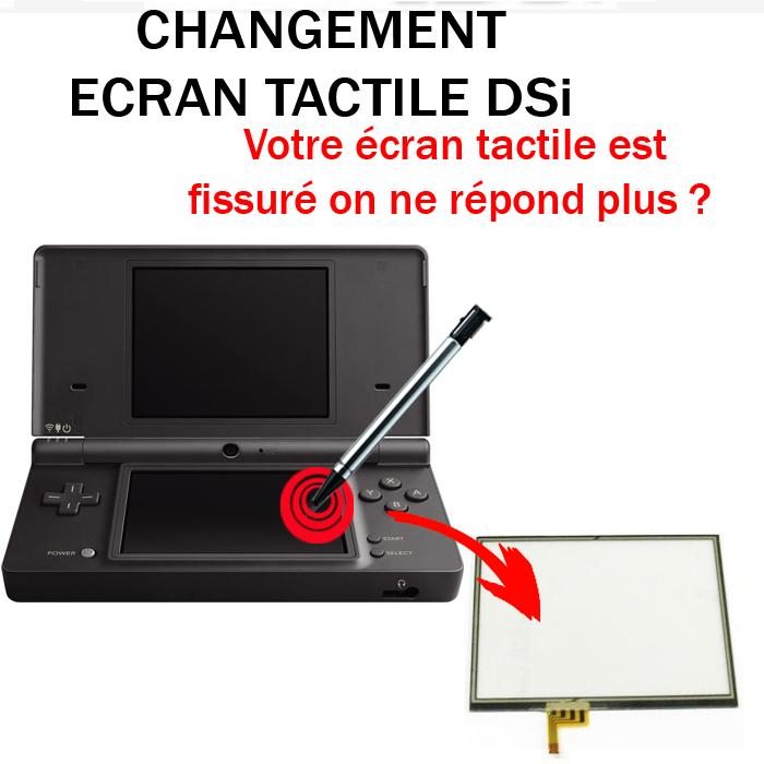 Réparation DSi Ecran tactile
