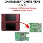 Réparation DSi XL Changement carte mère