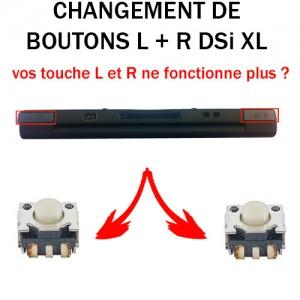Réparation DSi XL bouton L R