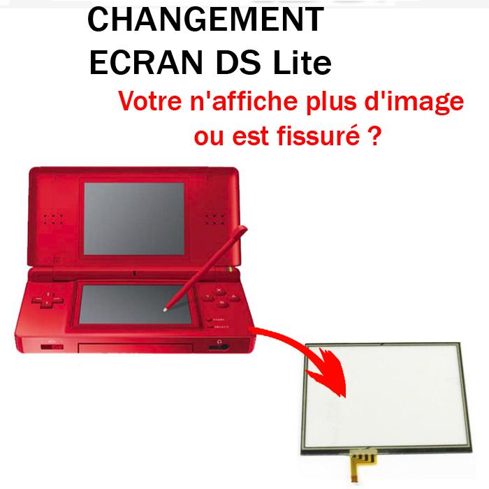 Réparation DS Lite Ecran tactile