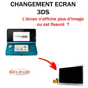 Réparation 3DS Nintendo Ecran Haut