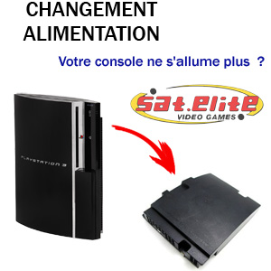 Réparation ps3 alimentation fat