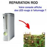 Réparation xbox 360 Led rouge RROD