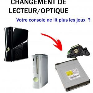 Réparation xbox 360 optique lecteur