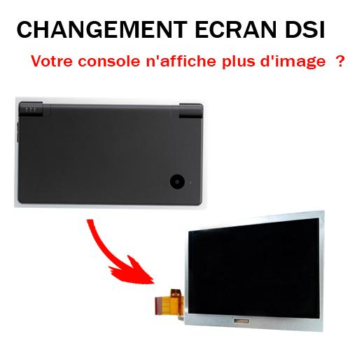 Réparation DSi Changement écran