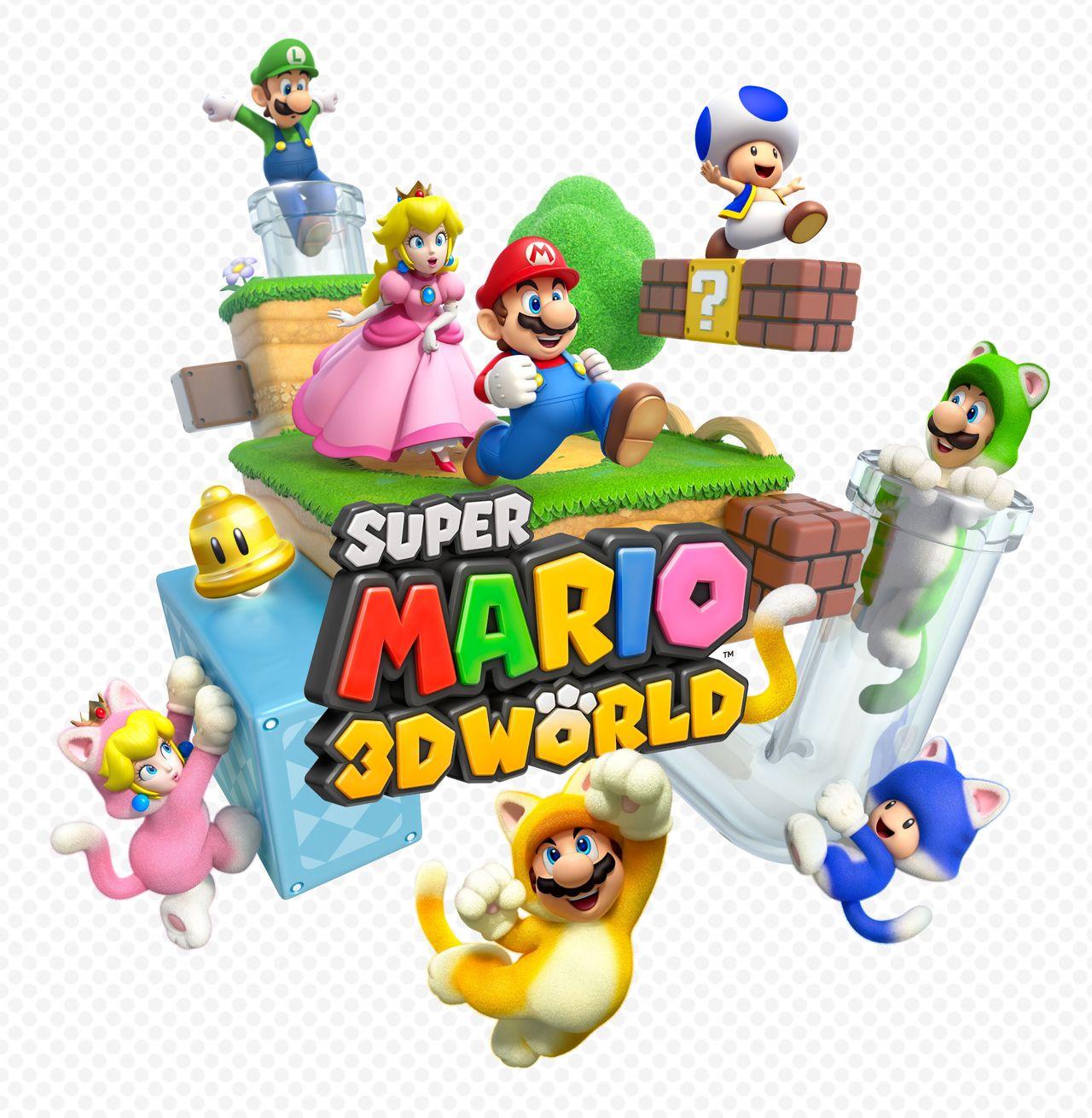 Super Marios 3D World Wii U