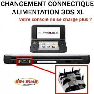 Réparation 3DS XL Changement Connecteur
