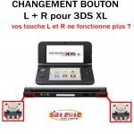 Réparation 3DS XL bouton L R