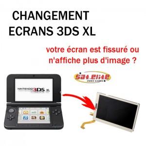 Réparation 3DS XL Changement ecran