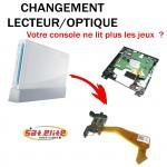 Réparation Wii optique