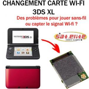 Changement carte Wi-fi 3dsxl