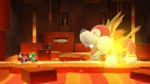 Vos amis peuvent prendre le console d'un autre Yoshi pour vous assister lorsque cela est nécéssaire