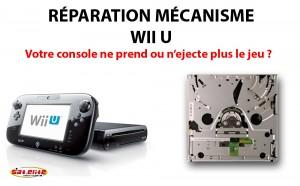 Réparation Wii U Lecteur