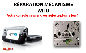 r paration wii u lecteur sat elite video games paris jeux video. Black Bedroom Furniture Sets. Home Design Ideas