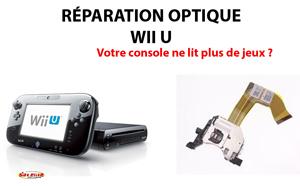 Réparation Optique Wii U