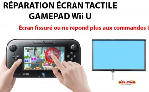 Réparation Wii U Tactile Gamepad