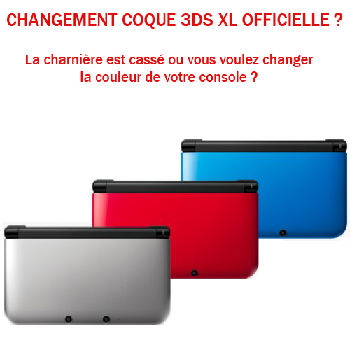 Changement coque 3ds xl sat elite video games paris jeux for Coque 3ds xl pokemon