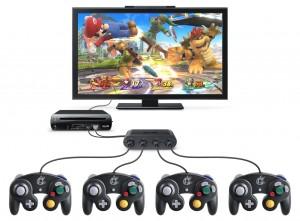 Adaptateur manette GameCube Wii U
