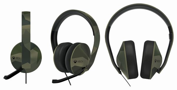Casque Xbox One édition Camouflage