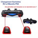 Réparation Manette PS4 Gachette L R
