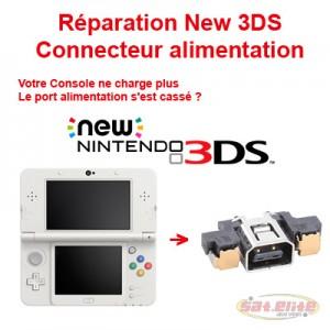 Réparation New 3DS Changement Connecteur