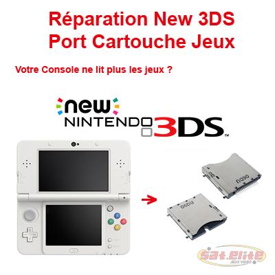 Réparation New 3DS port cartouche