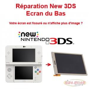 Reparation New 3DS changement ecran bas