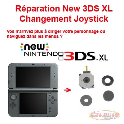 Changement Joystick New 3DS XL