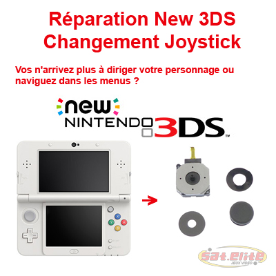 Changement Joystick New 3DS