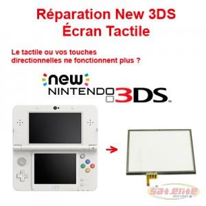 Reparation New 3DS changement ecran tactile