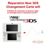 Changement carte Wi-fi New 3DS