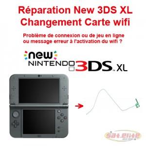 Changement carte Wi-fi New 3DS XL