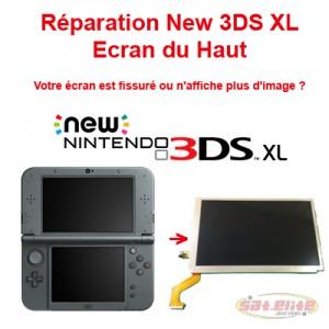 Reparation New 3DS changement ecran haut