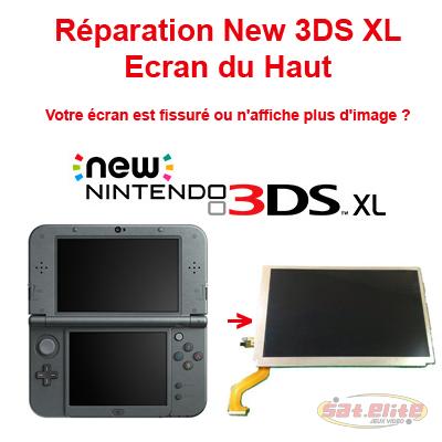 Reparation New 3DS XL changement ecran haut