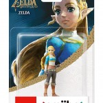 Amiibo The Legend of Zelda Breath of the Wild Zelda