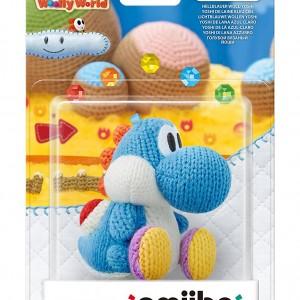 Amiibo Yoshi de laine Bleu Ciel