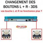 Réparation 3DS bouton L R