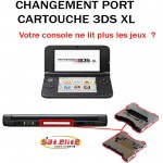 Réparation 3DS XL port cartouche