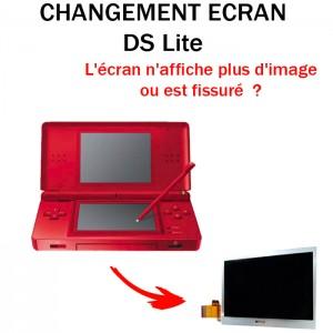 Réparation DS Lite Changement écran