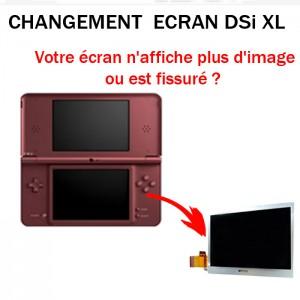 Réparation DSi XL Ecran