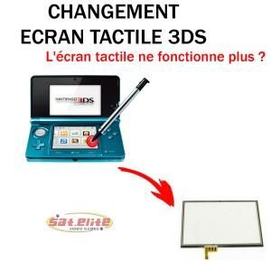 Réparation 3DS changement écran tactile